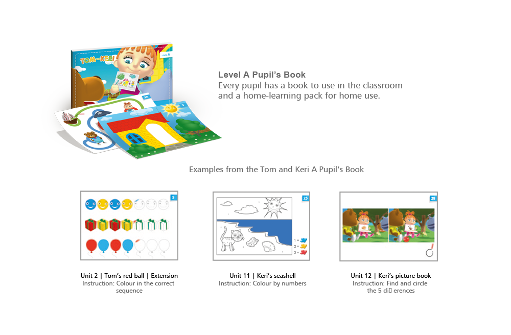 Pupil's Book – Level A with Tom and Keri