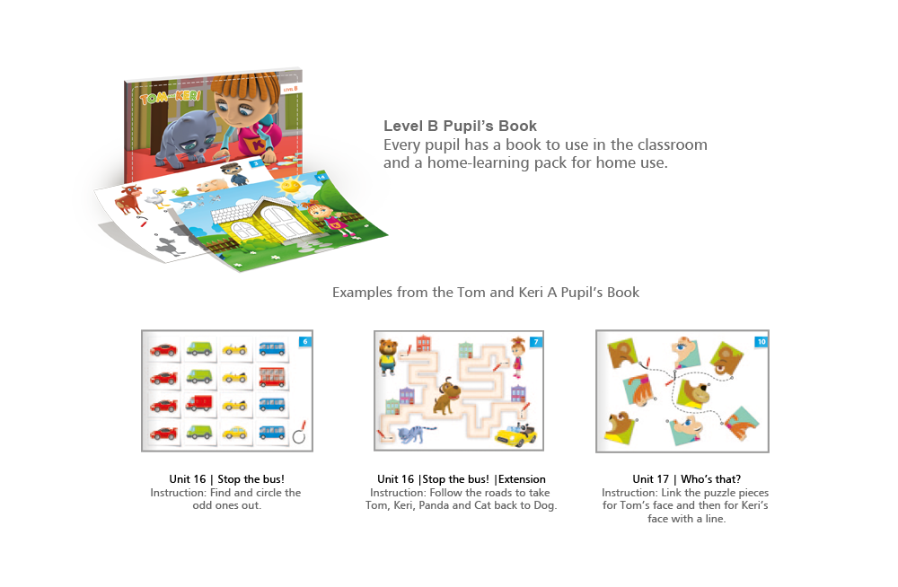 Pupil's Book – Level B with Tom and Keri